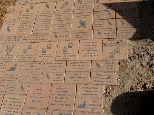 People can purchase a personalized brick to help support the Batiquitos Lagoon Foundation.