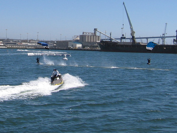 More great Swoop Freestyle action out on San Diego Bay.