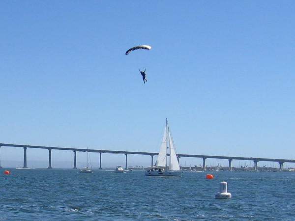 Here comes another. As you can see, it was a typically perfect San Diego day for the event.