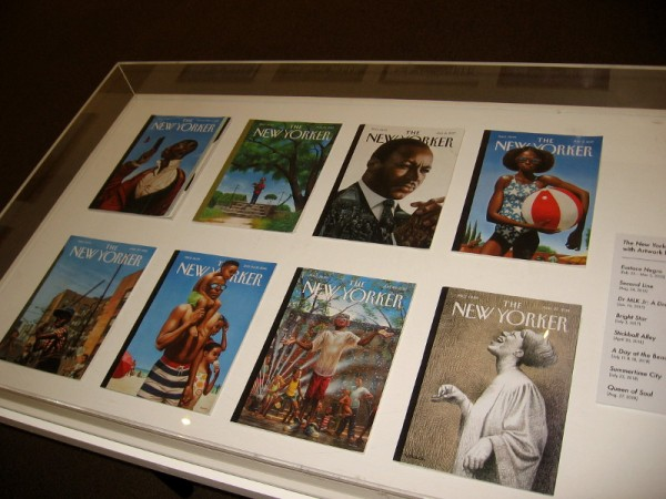 Eight extraordinary The New Yorker covers with artwork by Kadir Nelson.