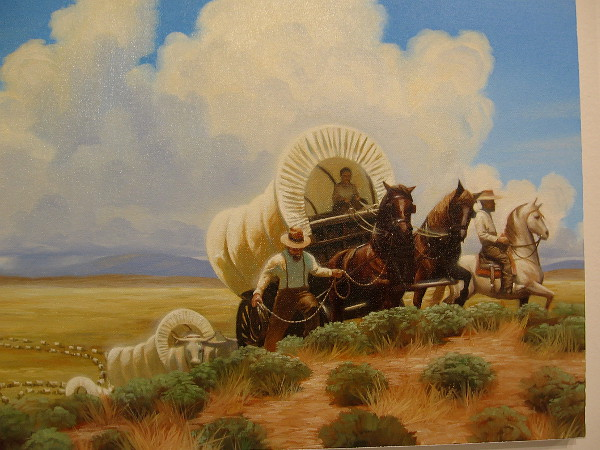 Pioneers (White Rows), 2016, oil on canvas, Kadir Nelson.