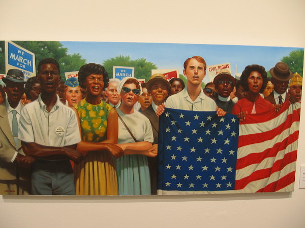 We Shall Overcome, 2016, oil on canvas, Kadir Nelson.