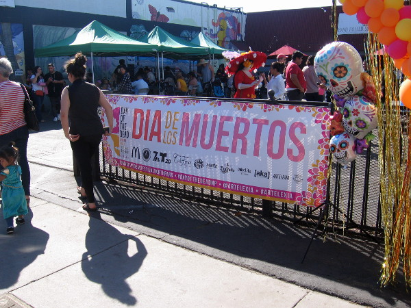 The 2nd Annual Day of the Dead North Park Festival had a couple blocks of Ray Street overflowing with color and life!