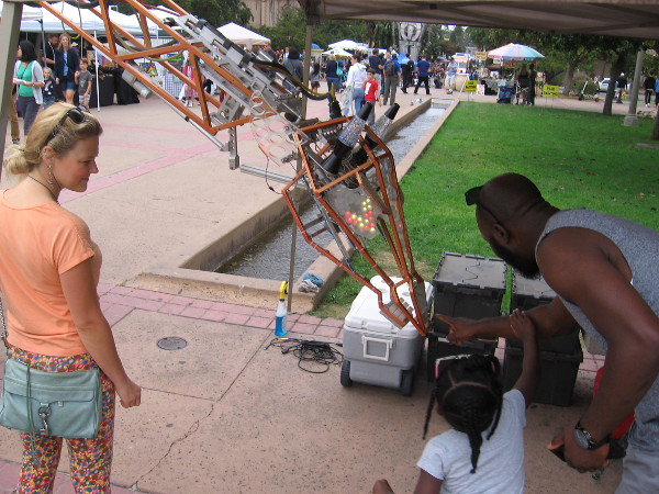 Exploring the sensors and capabilities of a cool robotic giraffe!