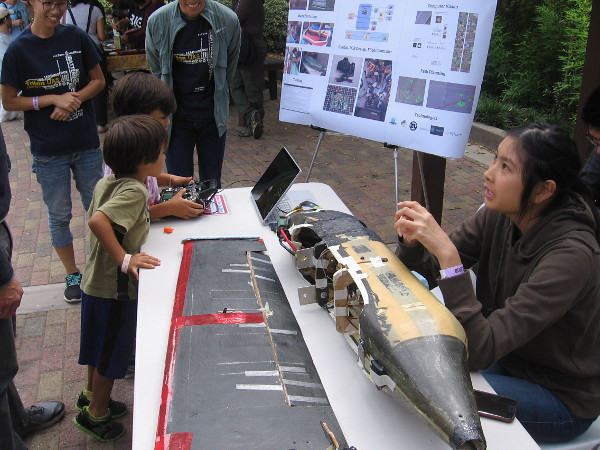 UCSD students created an unmanned aerial vehicle for an academic competition.