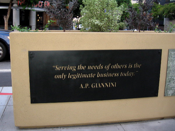 Serving the needs of others is the only legitimate business today.