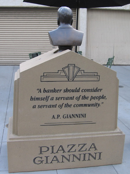 A banker should consider himself a servant of the people, a servant of the community.
