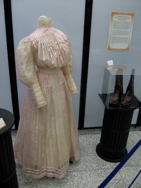 Dress, circa 1900. From the San Diego State University School of Theater, Television, and Film Historical Collection.