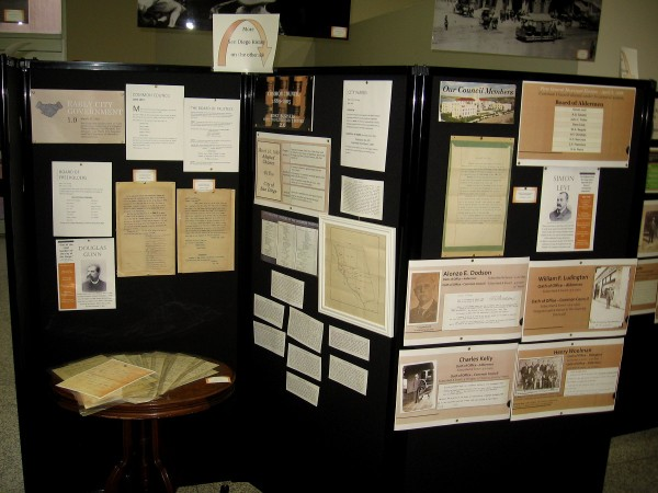 Numerous documents and articles recall the history of San Diego city government in the second half of the 19th century.