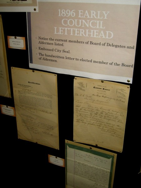 More documents from the late 19th century provide examples of early council letterhead.