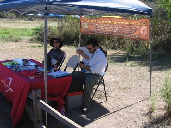 Excavations at Los Peñasquitos Canyon Preserve are carried out by students in the Archaeology Program at Palomar College.