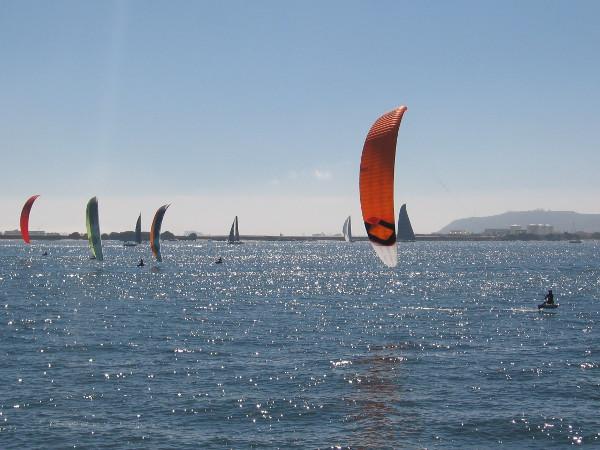 More magic on San Diego Bay.