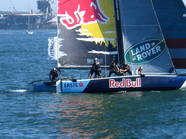 Sails of many types were spotted today out on beautiful San Diego Bay!