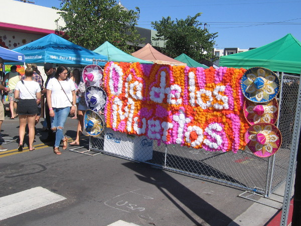 Día de los Muertos is celebrated in North Park. It's a new local tradition that promises to grow ever more popular!