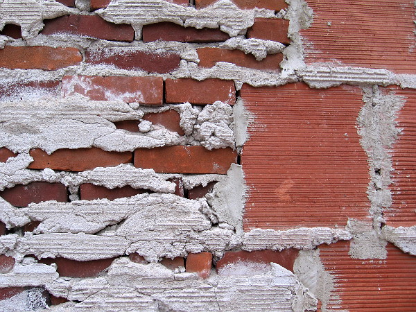 Strange Beauty Of A Brick Wall Downtown Cool San Diego Sights
