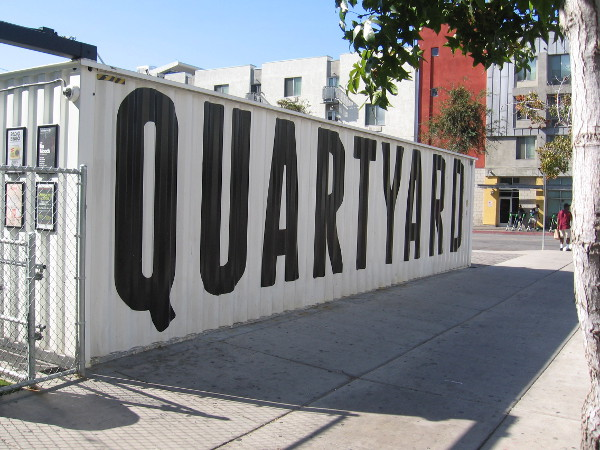 The Quartyard in East Village moved half a year ago to this new location at the corner of Market Street and 13th Street.