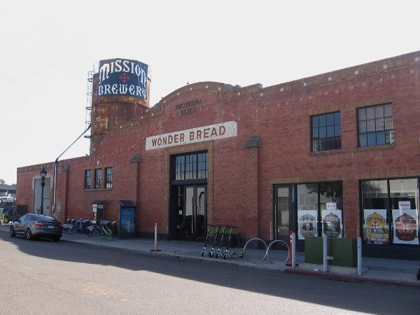 Mission Brewery has been located in the old Wonder Bread Building for years now.
