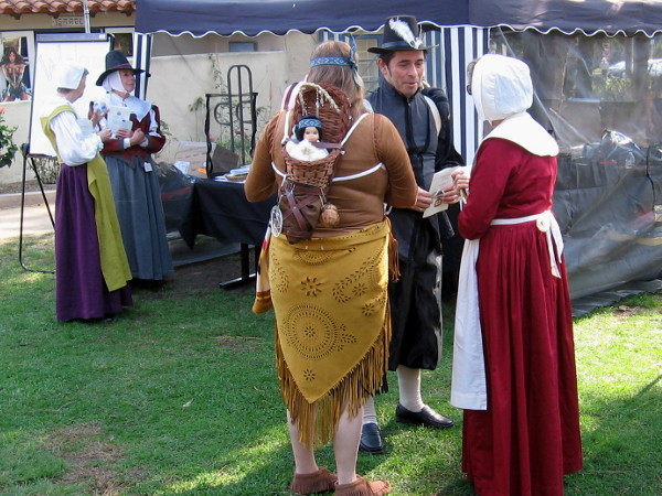 The descendants of the Mayflower Pilgrims gather for a special event in San Diego's Balboa Park!