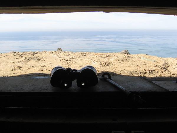 Binoculars at the ready. Enter a coastal defense bunker at Cabrillo National Monument to experience a bit of what it was like during World War II in San Diego.