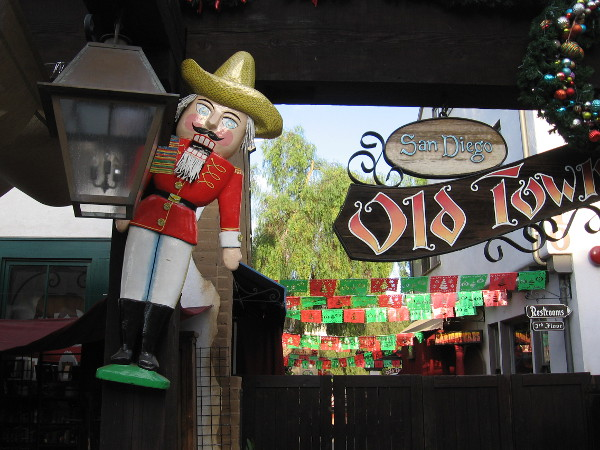 Celebrating the holiday season with a little Mexican flavor in Old Town!
