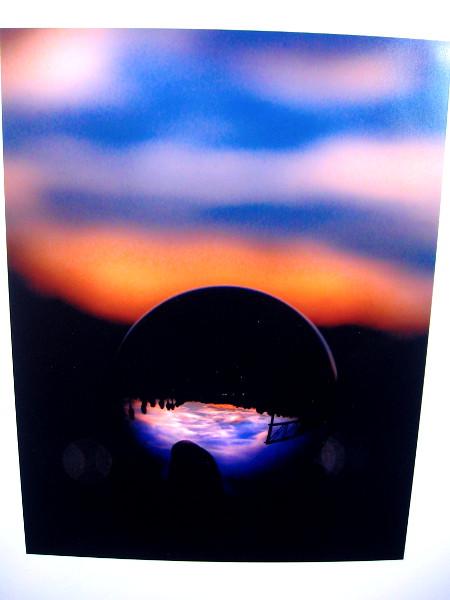 Reflective Sunset, Cherish Clarkson, digital photography. Grossmont High School.