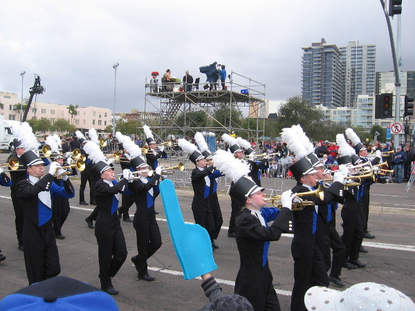 These are the Norris High School Marching Titans from Firth, Nebraska!
