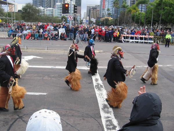Danza del los Diablos. Looks like devilish fun!