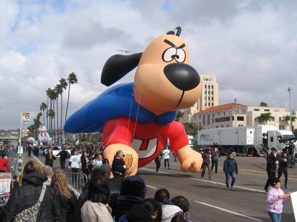 There's no need to fear, Underdog is here!
