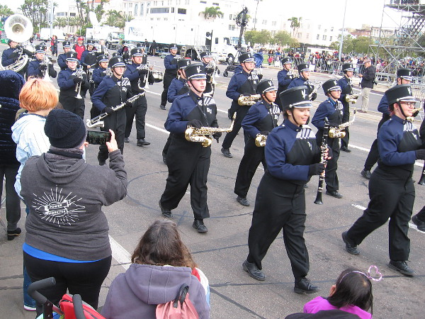 And here is the Deer Valley High School Marching Band!