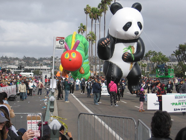 Even more fun balloons! I see a San Diego Zoo Panda!