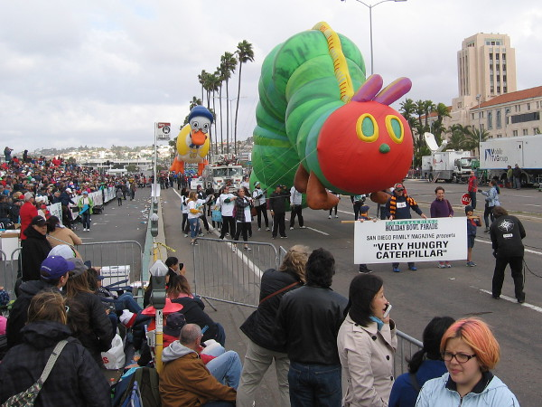 It's the beloved Very Hungry Caterpillar!