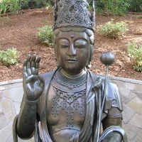 300 year old Kannon statue in Balboa Park!