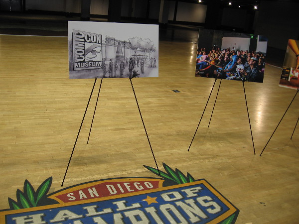 The San Diego Hall of Champions once occupied the Federal Building. In the future it will be a dynamic place where visitors can explore the popular culture!