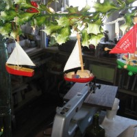 A nautical Christmas in the Model Shop!