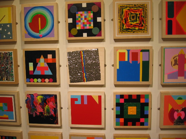 Small windows to magical creativity delight the eye at the San Diego History Center. A current exhibition concerns the art of Bob Matheny.