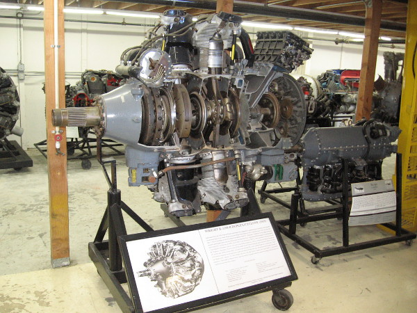 Wright R-3350-B Duplex-Cyclone 1939 aircraft power plant, at the time the most powerful radial engine in the world at 2000 HP.