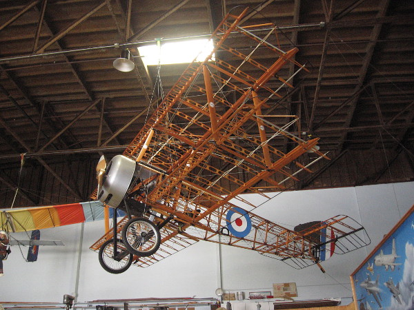 Sopwith Pup Craftsmen of the San Diego Aerospace Museum, a volunteer aircraft building project back in 2000-2003.