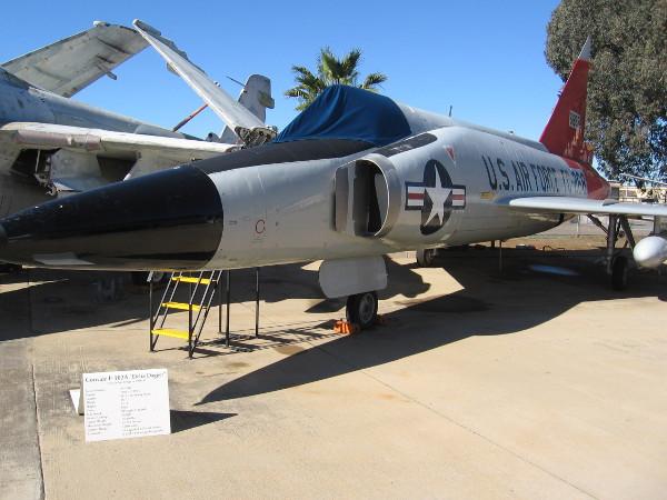 Convair F-102A Delta Dagger built in San Diego 1956-1957.
