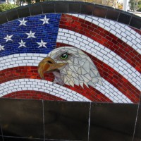 Photos of Vietnam War Memorial in La Mesa.