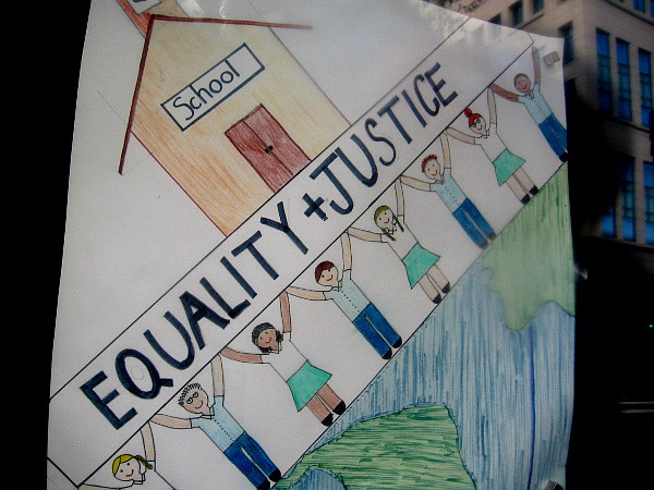 Equality and Justice.