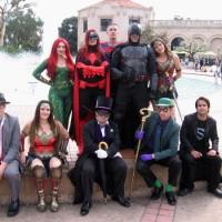 Justice League superheroes patrol Balboa Park!