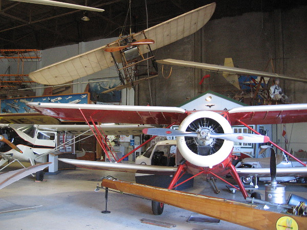 Visit the free San Diego Air and Space Museum's Gillespie Field Annex and you'll learn much about aviation history!