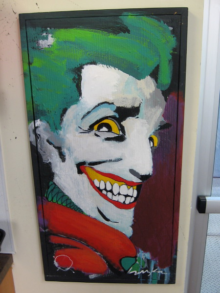 The Joker's Smile by artist Suzka.