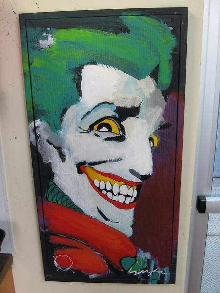 The Joker's Smile by artist Suzka.