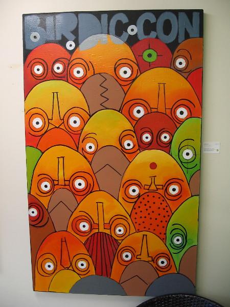 Birdic-Con by artist Suzka.