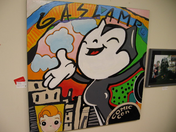 Gaslamp-Kitty by artist Suzka.