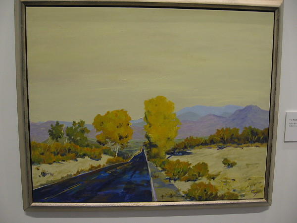 The Road Less Traveled, 2003, oil on linen.
