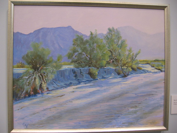 Fish Creek Afternoon, 2012, oil on linen.