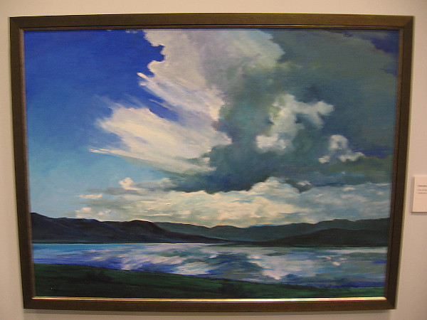 Henshaw After the Storm, 2007, oil on linen.