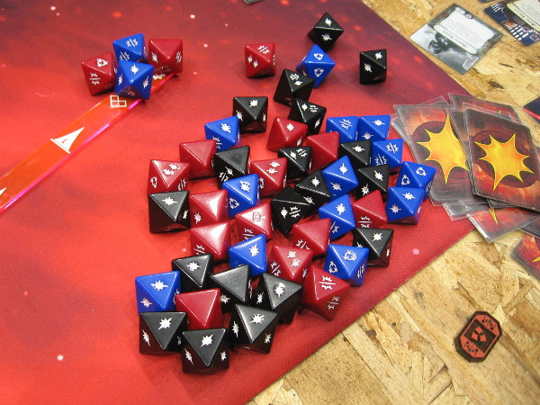 Perhaps players with a high midi-chlorian count can use the Force when throwing these dice.